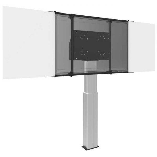 Montageset incl whiteboarden emaille staal 70″