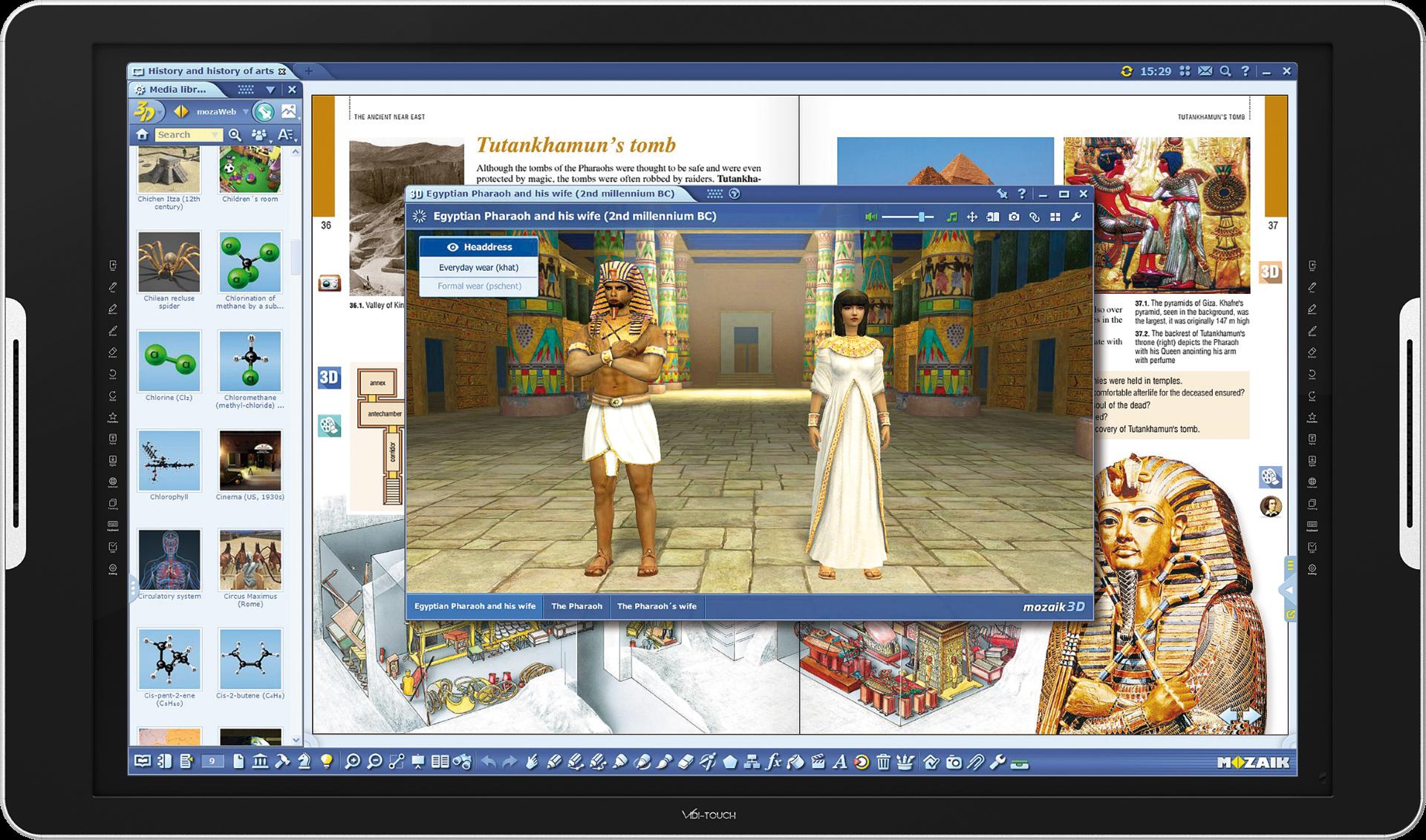 MozaBook Software