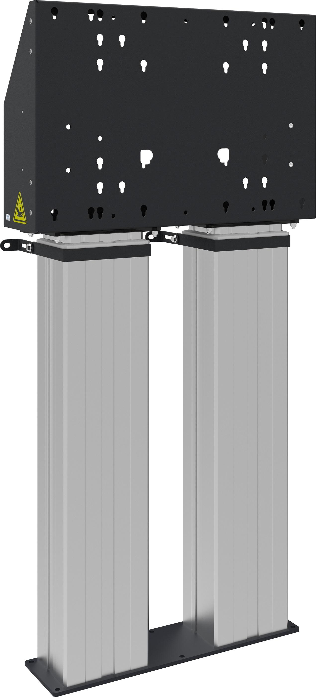 Vloerlift XL Dubbelkoloms <br> Art. Nr. 80041303
